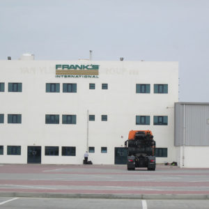 Frank's International - Location - Jebel Ali Free Zone, Dubai